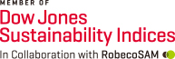 MEMBER OF Dow Jones Sustainability Indices In Collaboration with RobecoSAM