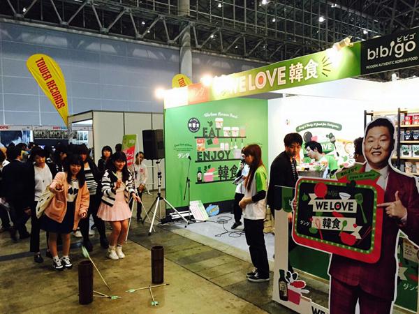 "CJ第一制糖,在日本韩流活动""KCON JAPAN"