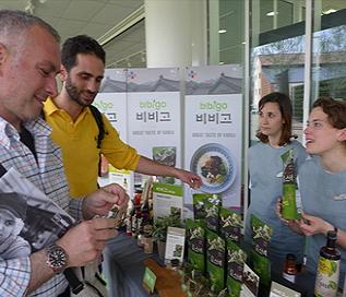 비비고, 2015 밀라노엑스포 한국관 참여