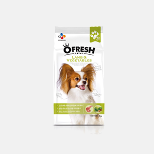 Petfood with lamb & vege