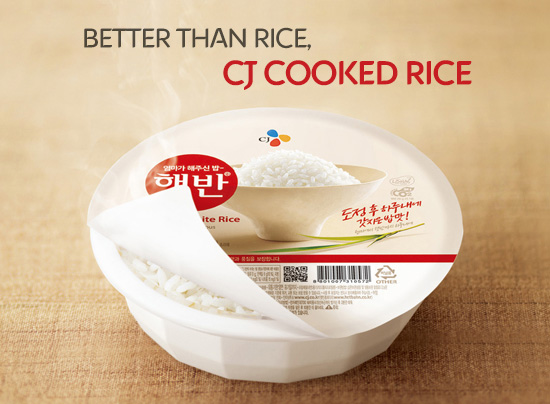 Better than rice, CJ Cooked Rice