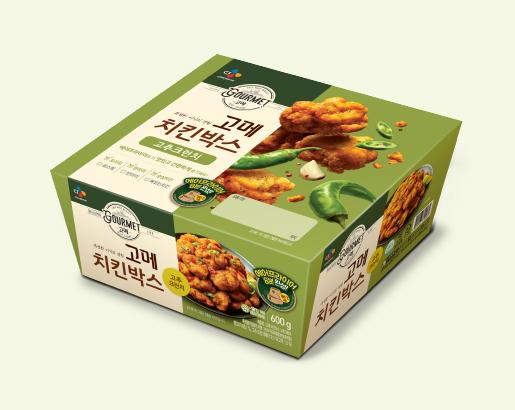 고메 치킨박스 고추크런치 제품 이미지