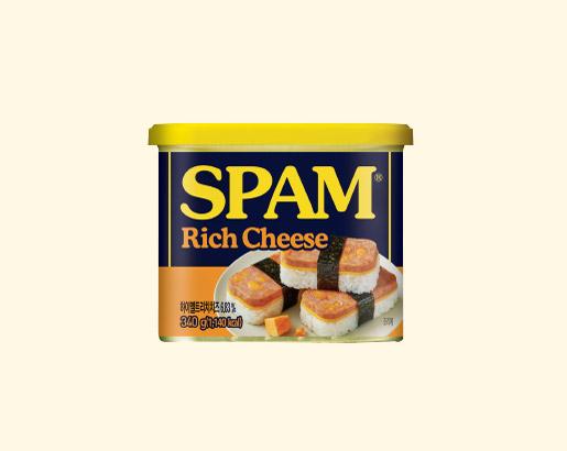 스팸 리치 치즈 제품 이미지