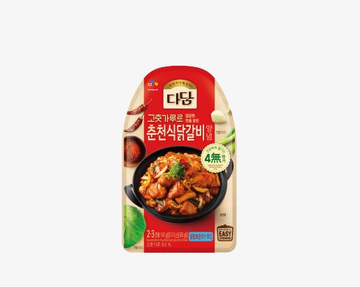 다담 춘천식닭갈비 양념 제품 이미지
