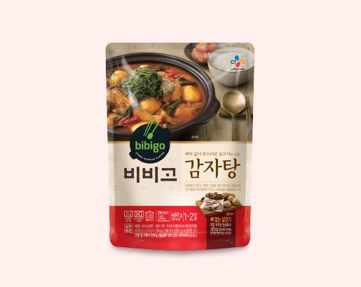 비비고 감자탕 제품 이미지