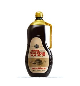 백설 참진한참기름
