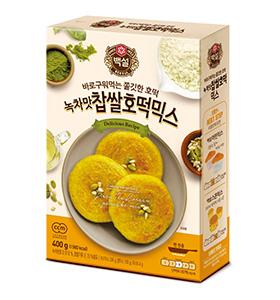 백설 녹차맛 찹쌀 호떡 믹스