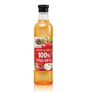 백설 자연발효 사과식초