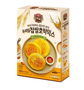 백설 우리밀 찹쌀 호떡믹스