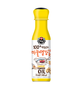 100+ 만능요리 마늘생강기름