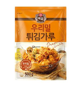 백설 우리밀 튀김가루