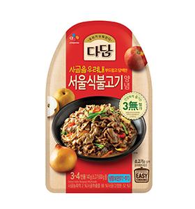 다담 서울식불고기 양념
