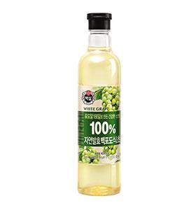 백설 100% 자연발효 백포도식초