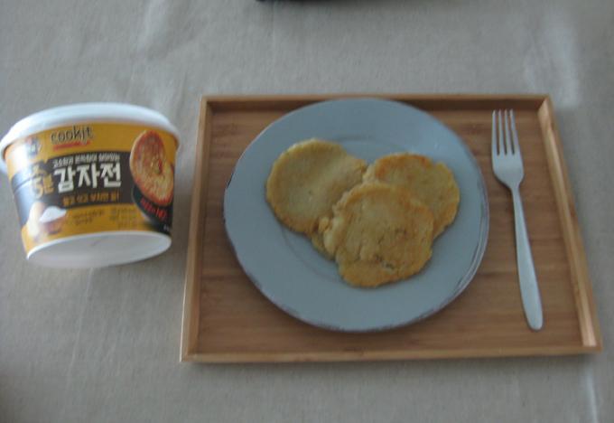 CJ제일제당 백설 신제품 쿠킷 5분 감자전 만들었어요