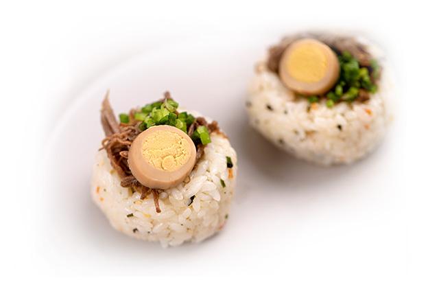 핑거주먹밥 도시락 만들기 4단계 사진