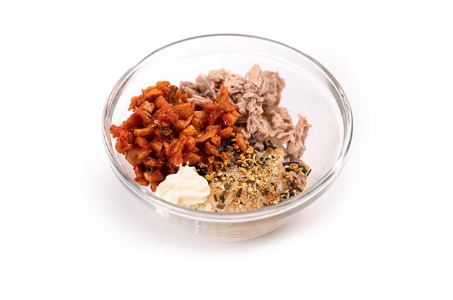 핑거주먹밥 도시락 만들기 6단계 사진