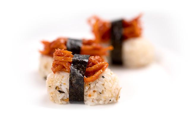 핑거주먹밥 도시락 만들기 9단계 사진
