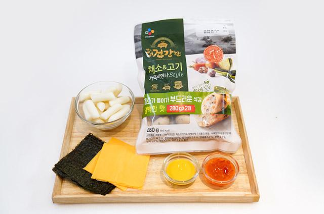 채소고기 비엔나 Style 소떡소떡 만들기 2단계 사진