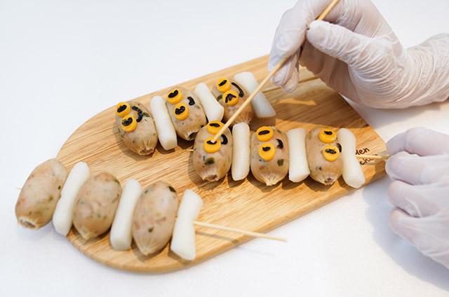 채소고기 비엔나 Style 소떡소떡 만들기 6단계 사진