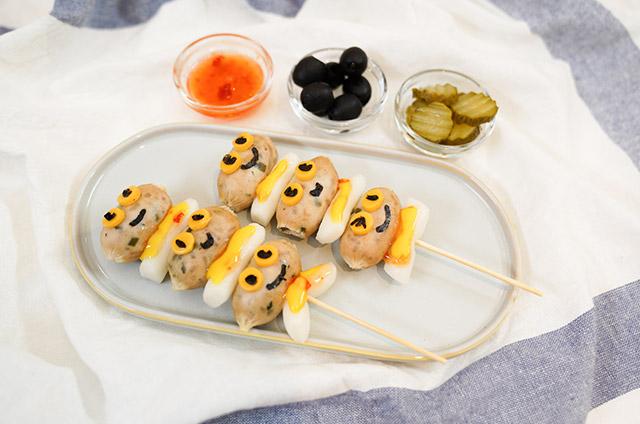 채소고기 비엔나 Style 소떡소떡 만들기 7단계 사진