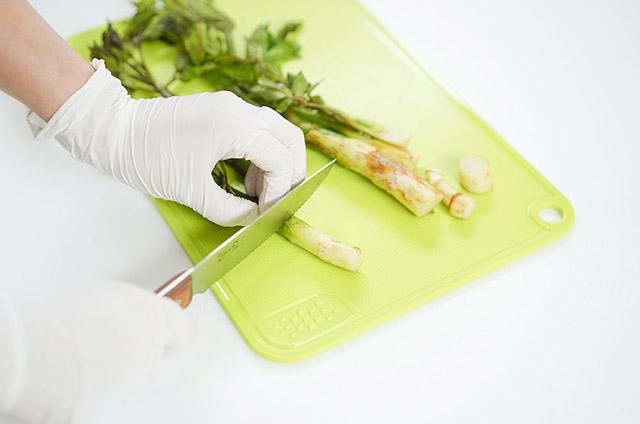 유기농 쌀밥 봄나물 쌈밥 만들기 3단계 사진