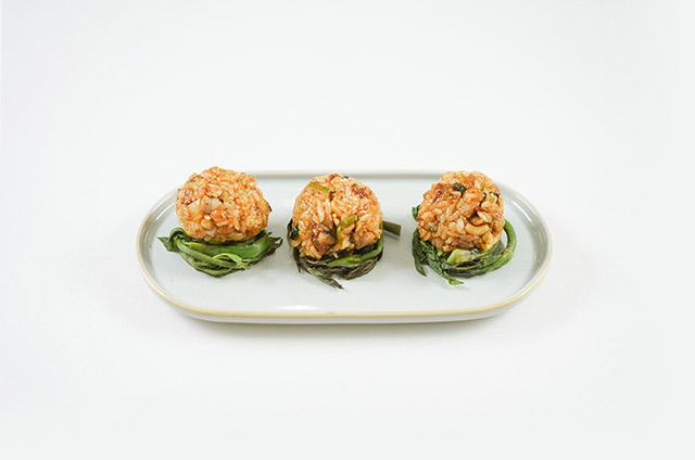 유기농 쌀밥 봄나물 쌈밥 만들기 9단계 사진