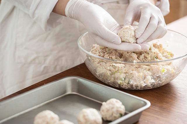 닭가슴살 호두 크로켓 만들기 5단계 사진