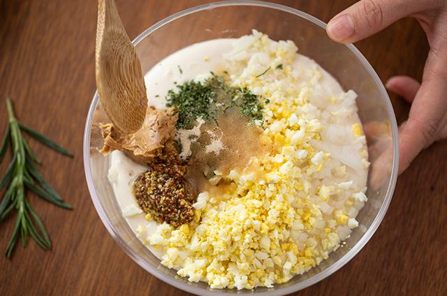 닭가슴살 호두 크로켓 만들기 8단계 사진