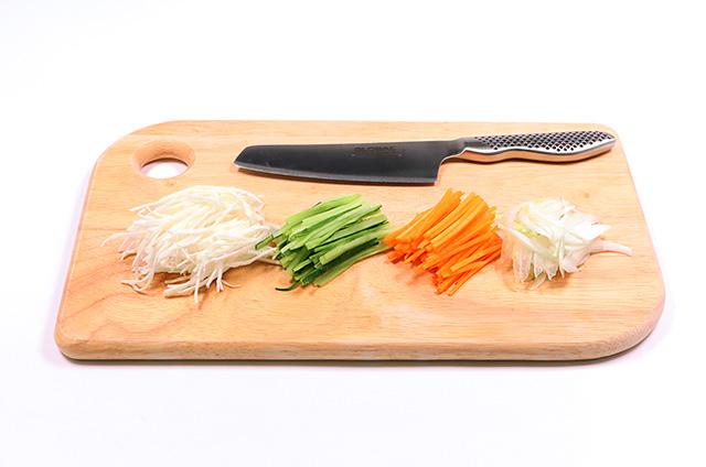 꼬막 열무 비빔 칼국수 준비하기 4단계 사진