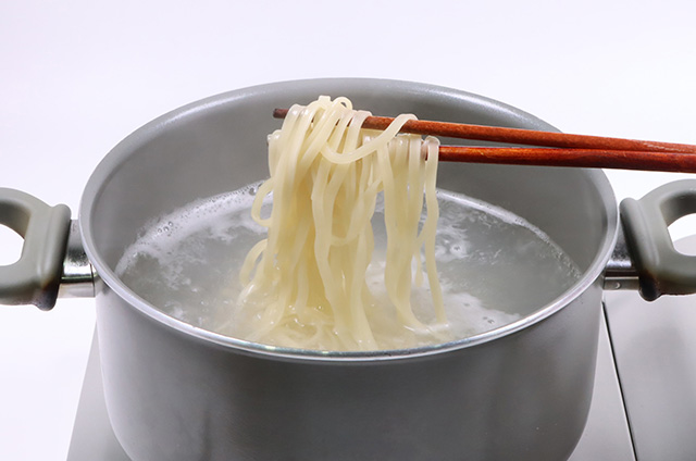 꼬막 열무 비빔 칼국수 만들기 3단계 사진