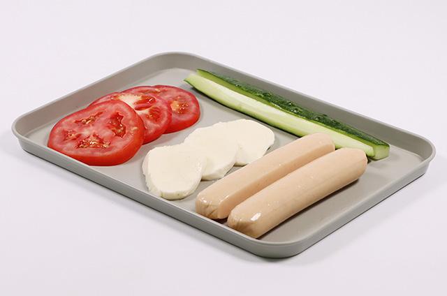 닭가슴살 샐러드 현미 김밥 준비하기 2단계 사진