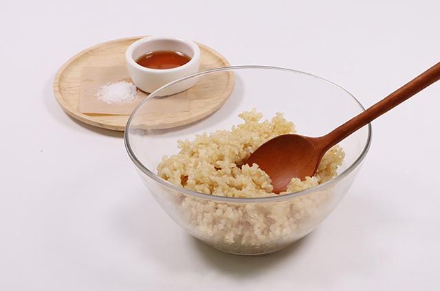 닭가슴살 샐러드 현미 김밥 만들기 2단계 사진