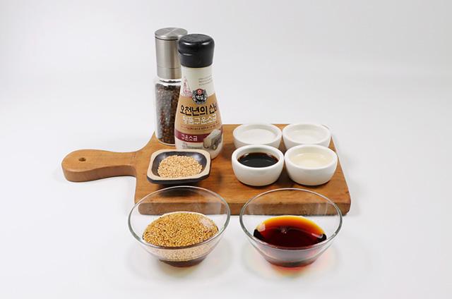 닭고기 완자와 비빔 메밀면 준비하기 4단계 사진