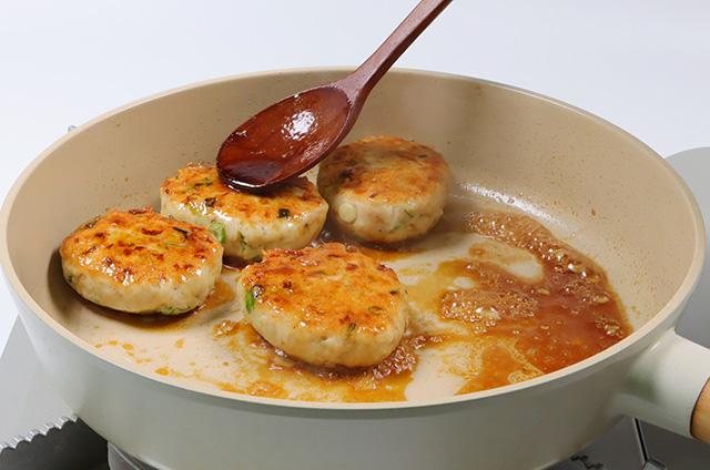 닭고기 완자와 비빔 메밀면 준비하기 6단계 사진