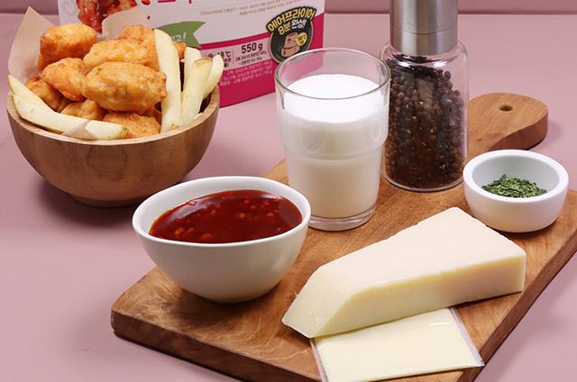 파마산 로제 크림 치킨 만들기 2단계 사진