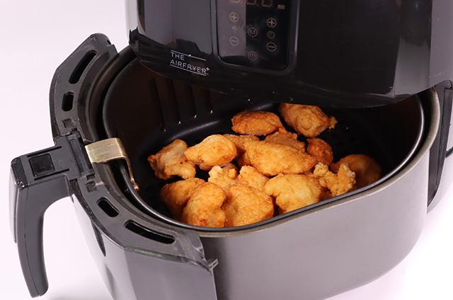 파마산 로제 크림 치킨 만들기 4단계 사진