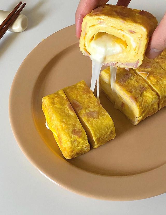 베이컨 치즈 계란말이